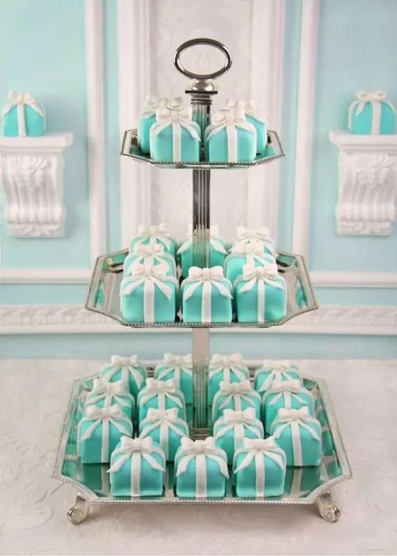 Teal Bridal Shower Ideas
