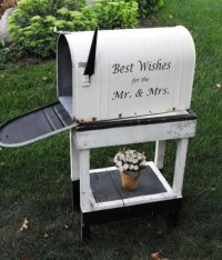 26 Charming Mailbox Wedding Dcor Ideas - Weddingomania