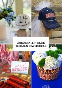 22 Cool Baseball Themed Bridal Shower Ideas - Weddingomania
