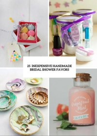 25 Inexpensive Yet Cute Handmade Bridal Shower Favors ...