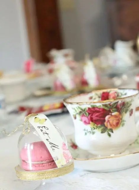 22 Fairy Alice In Wonderland Themed Bridal Shower Ideas