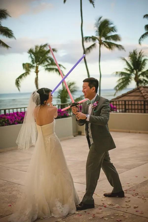 Star Wars Themed Hawaiian Destination Wedding Weddingomania