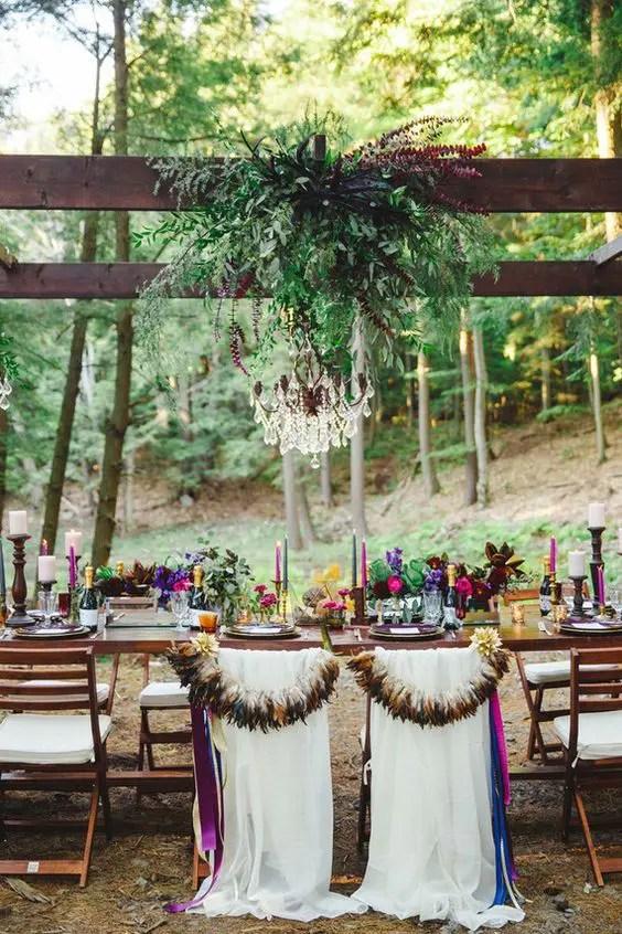 27 Bold Boho Chic Fall Wedding Ideas  Weddingomania