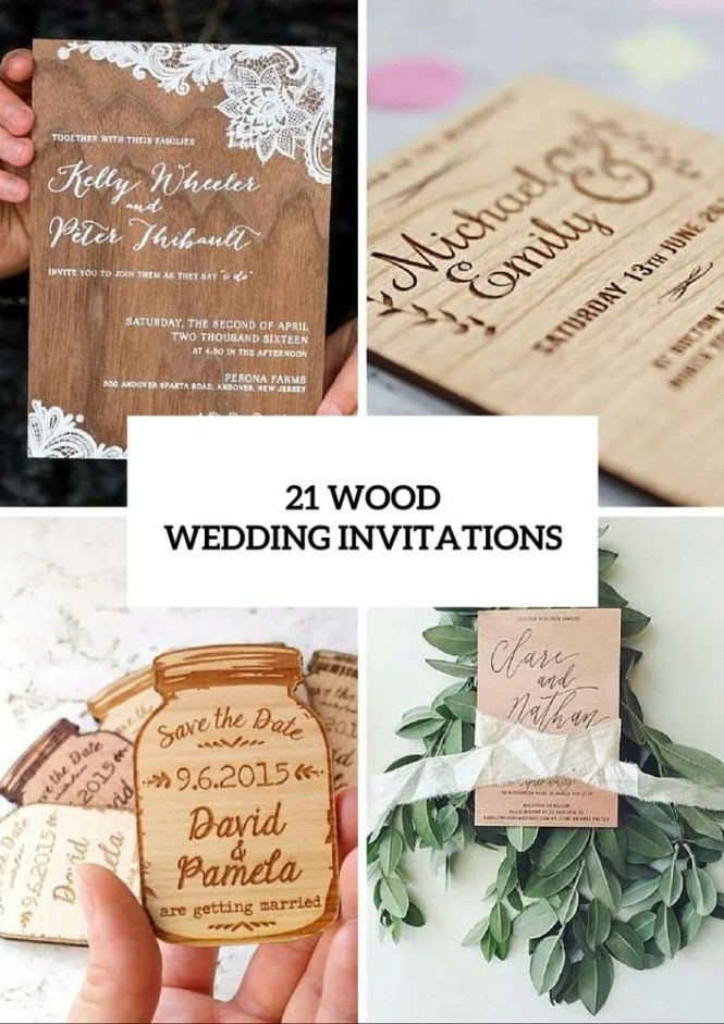 Handmade Wedding Invitation Design With Simple Materials Ideas