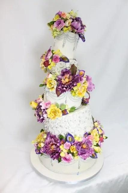 20 Creative Topsy Turvy Wedding Cake Ideas - crazyforus
