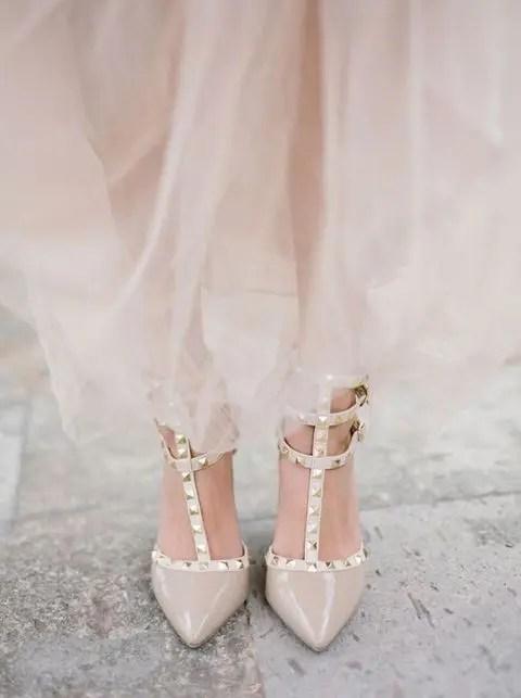 Silver Bridal Flats