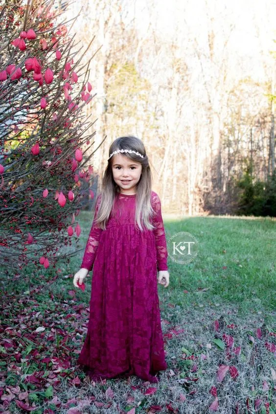 bold purple lace maxi dress