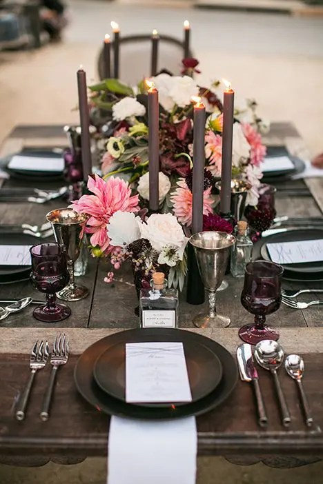 36 Gorgeous Moody Fall Wedding Ideas  Weddingomania