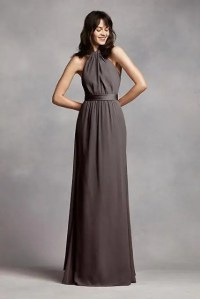 20 Wonderful Halter Bridesmaid Dress Ideas - Weddingomania