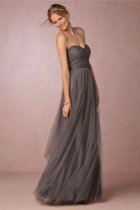 20 Gorgeous Gray Bridesmaid Dress Ideas For Fall Weddings