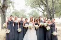 20 Gorgeous Gray Bridesmaid Dress Ideas For Fall Weddings ...