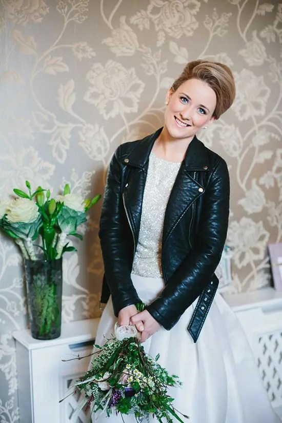27 Chic Ways To Rock A Leather Jacket At Your Wedding Weddingomania