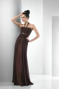 20 Chic Chocolate Brown Bridesmaid Dress Ideas - Weddingomania