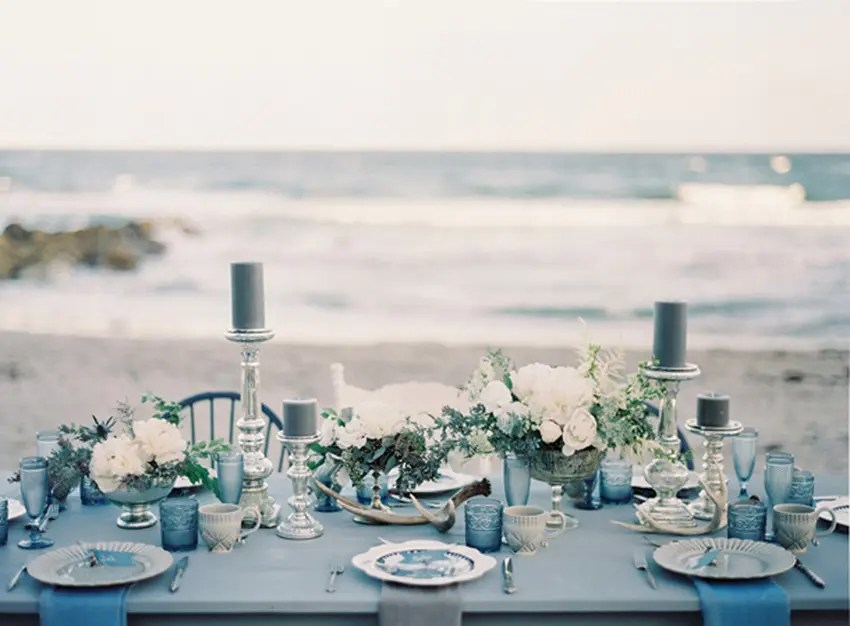 32 Ethereal Winter Coastal Wedding Ideas Weddingomania