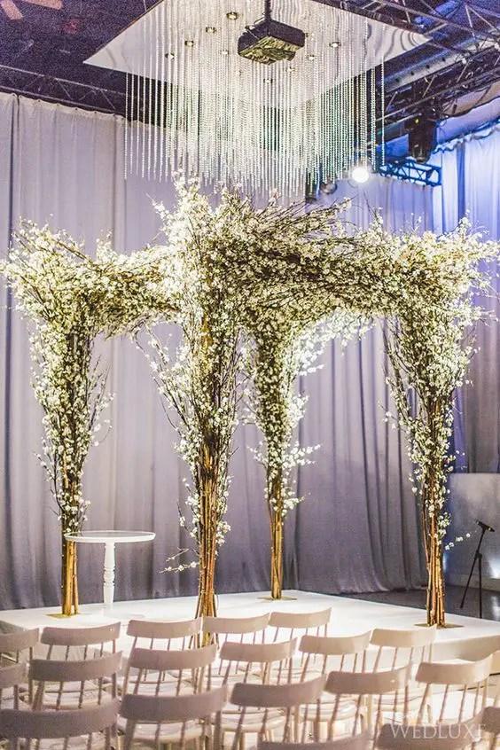 Winter Wonderland Wedding Arch