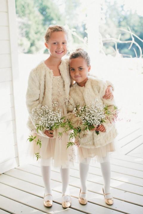 Cute Dresses Wear Winter Wedding