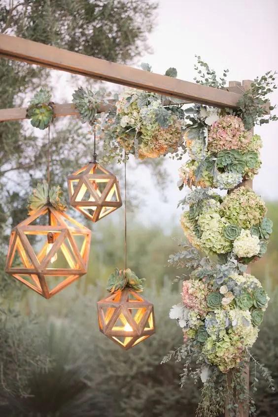 35 Trendy Geometric Wedding Dcor Ideas  Weddingomania