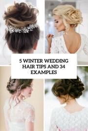 5 winter wedding hair tips