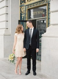 38 City Hall Bridal Looks That Inspire - Weddingomania