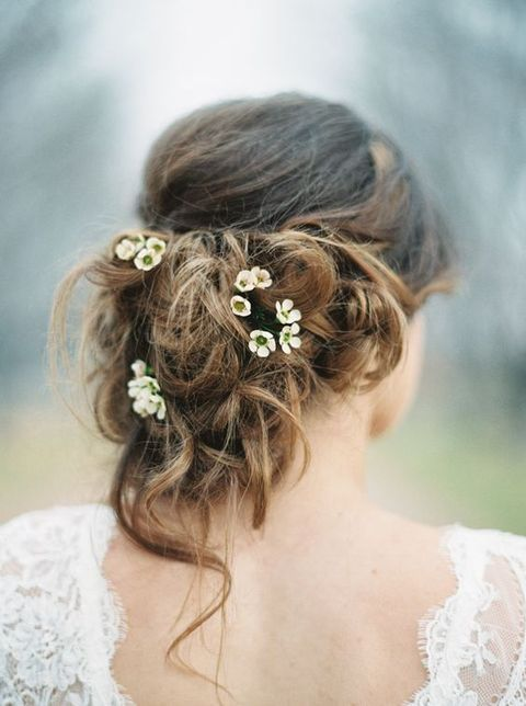 Messy Updo Hairstyles