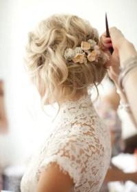 41 Trendy And Chic Messy Wedding Hairstyles - Weddingomania