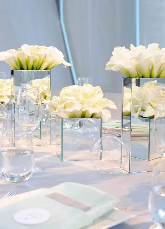 43 Creative Mirror Wedding Décor Ideas - Weddingomania