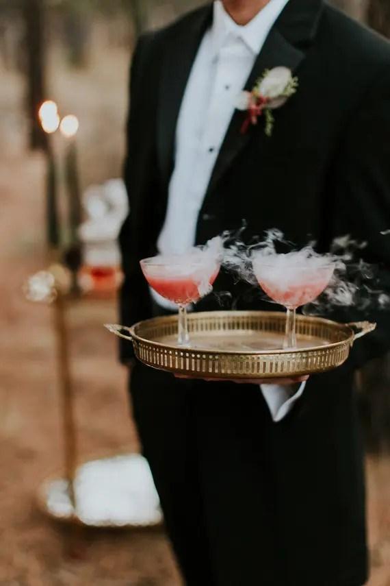 ivory sofa set upholstery service singapore enchanted moody halloween wedding shoot - weddingomania