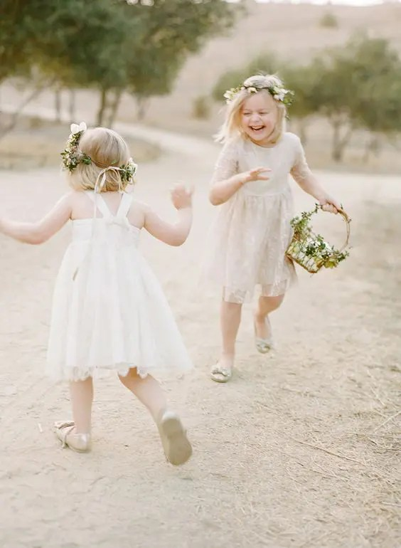 lace ivory dresses with different designs