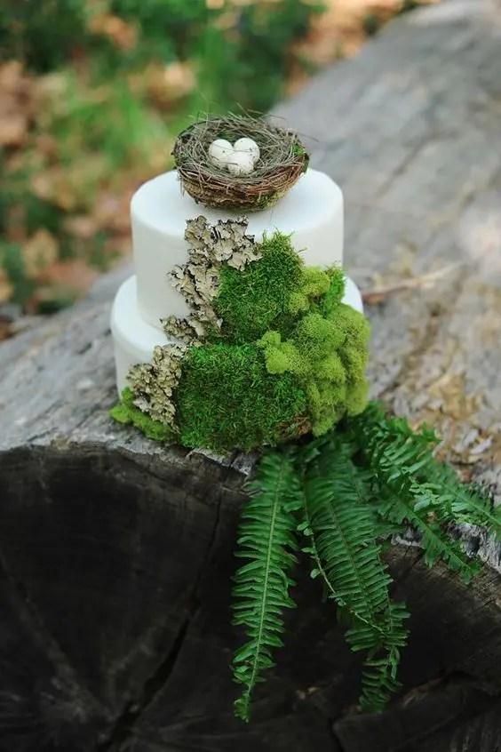 40 Inspiring And Fresh Spring Woodland Wedding Ideas