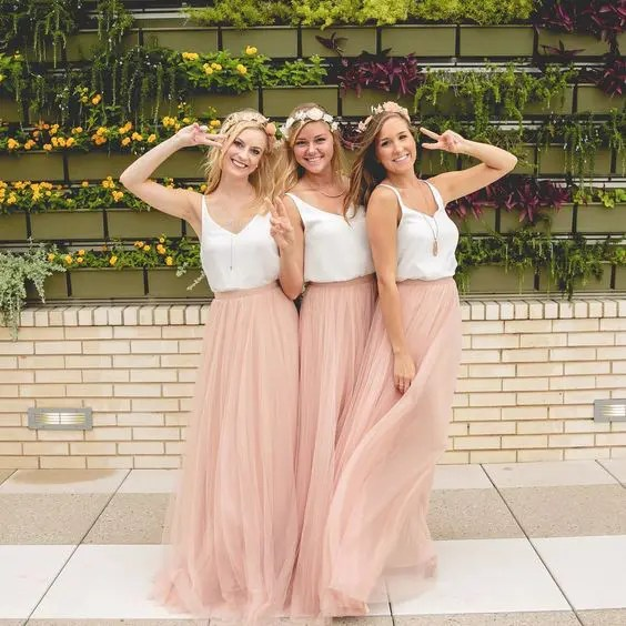 38 Chic And Trendy Bridesmaids Separates Ideas