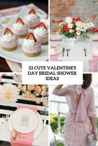 33 Cute Valentines Day Bridal Shower Ideas - Weddingomania