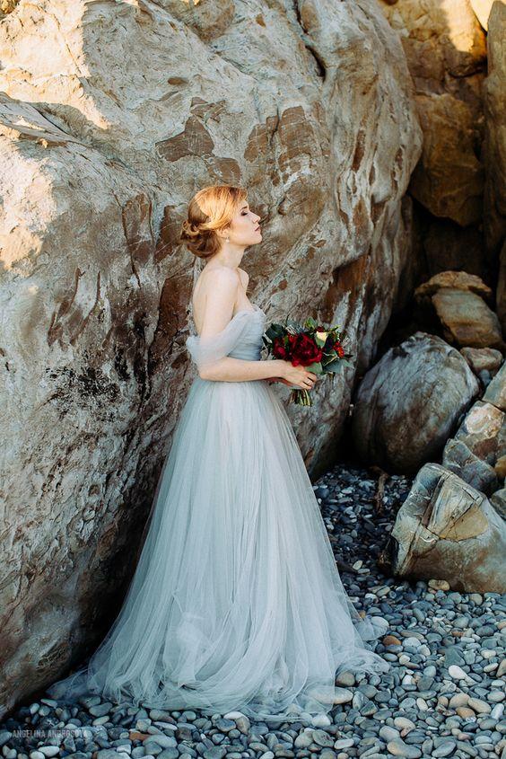 Navy Blue Wedding Shoes Bride