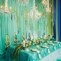 Teal Chair Covers Meditation Chairs For Sale 37 Unique Mermaid-inspired Wedding Ideas - Weddingomania