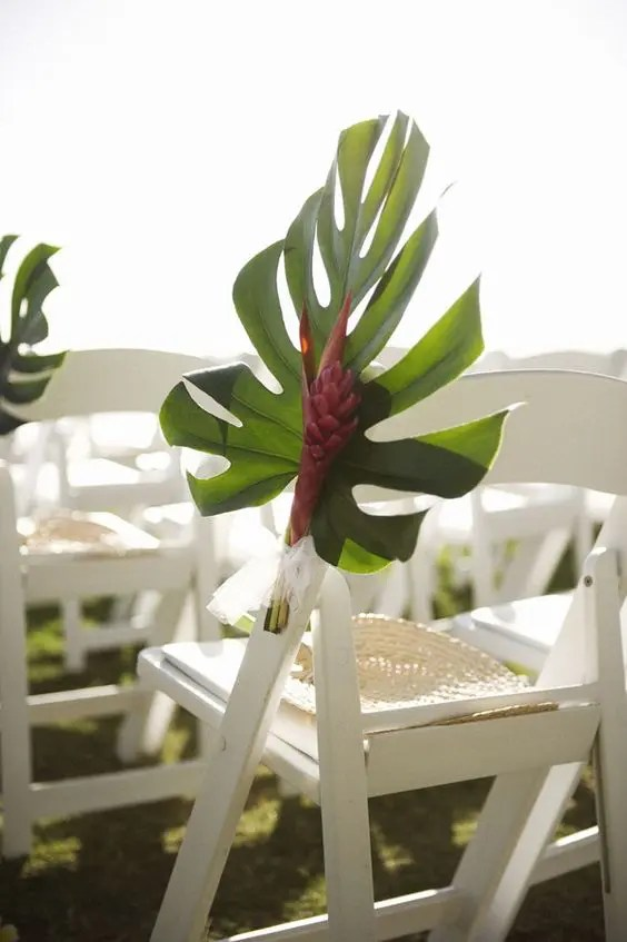 29 Tropical Wedding Aisle Dcor Ideas To Try  Weddingomania