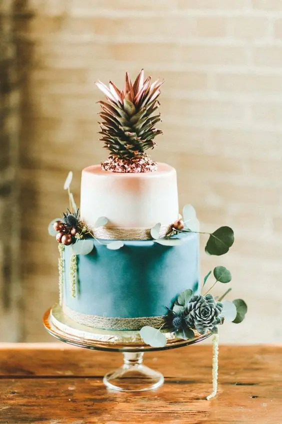 33 Beautiful And Yummy Tropical Wedding Cakes Weddingomania