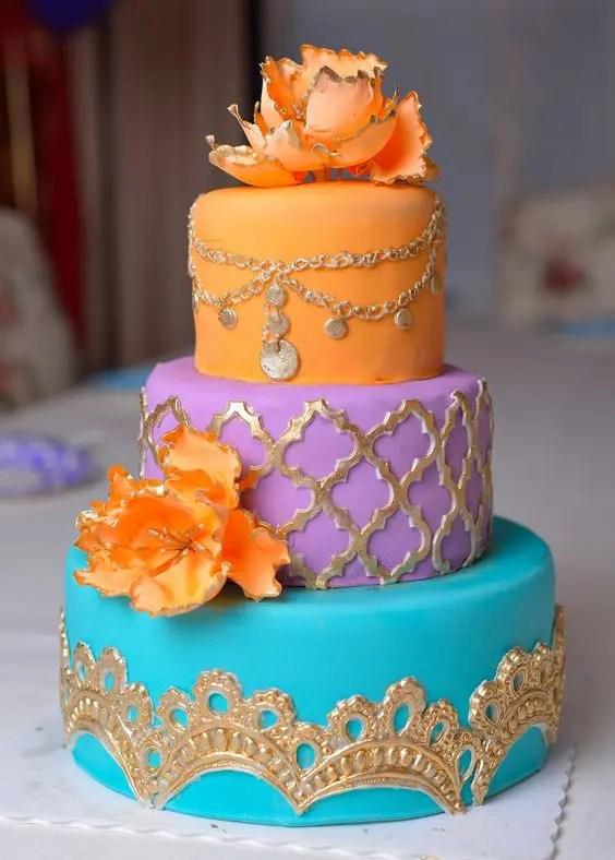 37 Colorful MoroccoInspired Wedding Ideas  Weddingomania
