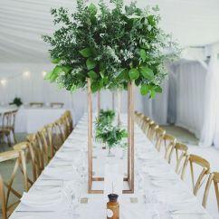 Metal Chair Covers Wedding Desk Mat 36 X 48 27 Trendy Botanical Table Décor Ideas - Weddingomania