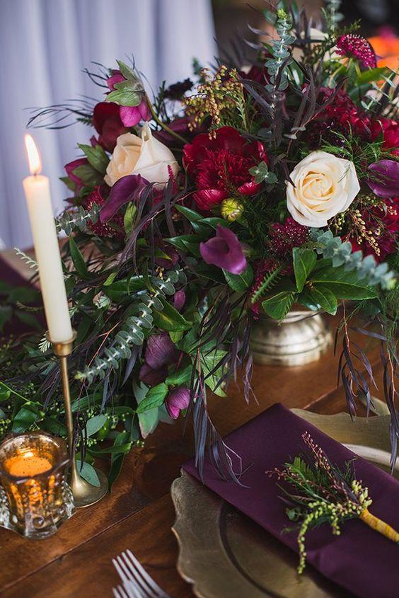 Dark Purple Wedding Ideas