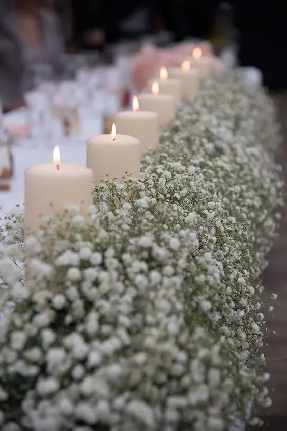 Candles Centerpieces Wedding Tables