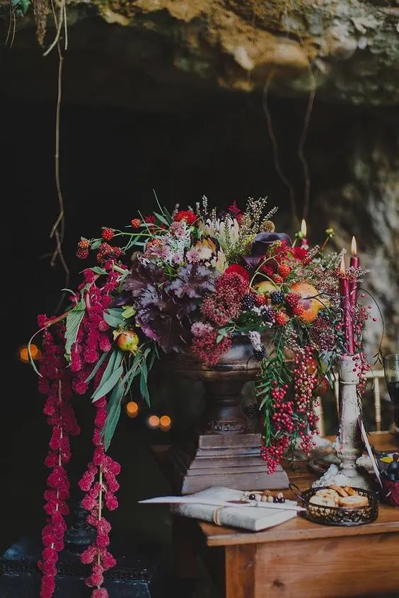 32 Lush Fall Garden Wedding Ideas Weddingomania