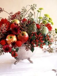 30 Yummy-Looking Wedding Centerpieces With Fruits And ...