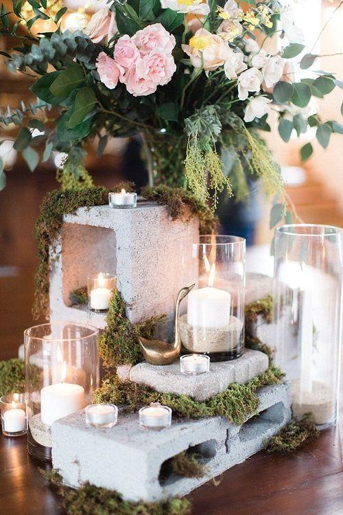 Small Wedding Table Centerpieces