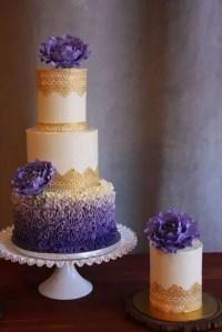 29 Refined Purple And Gold Wedding Ideas - Weddingomania