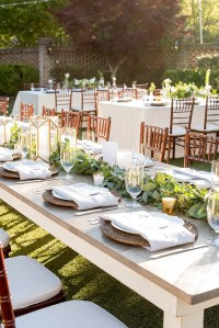 Wedding Table Settings With Candles & U002725 Gorgeous ...