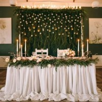 27 Cool Sweetheart Wedding Table Backdrops To Try - crazyforus