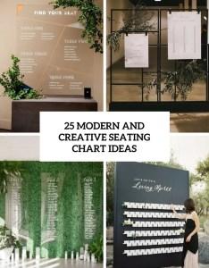 Modern and creative seating chart ideas cover also weddingomania rh