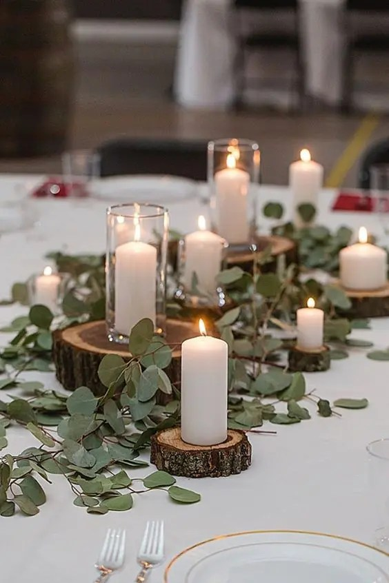 Art Deco Inspired Wedding Centerpieces Small House