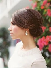 chic bridesmaids hairstyles