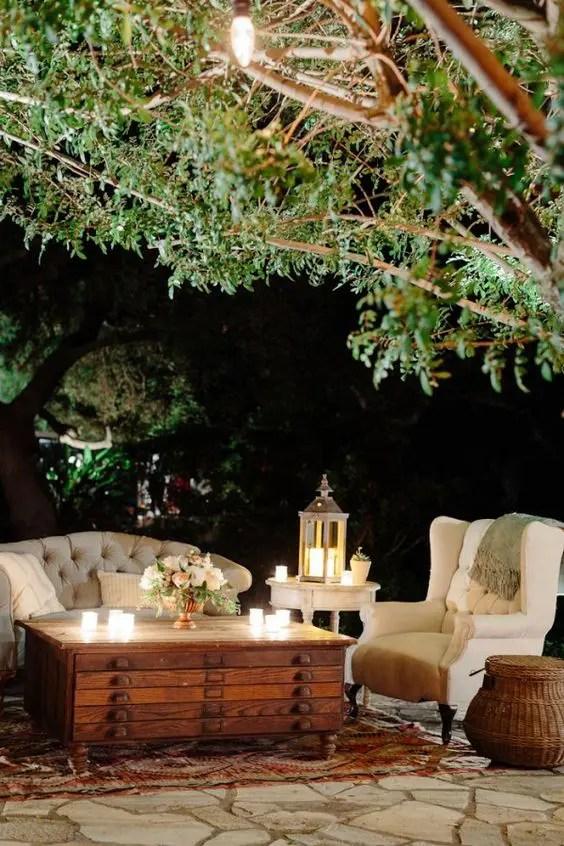 Cool Outdoor Wedding Lounge Tips and Ideas - crazyforus