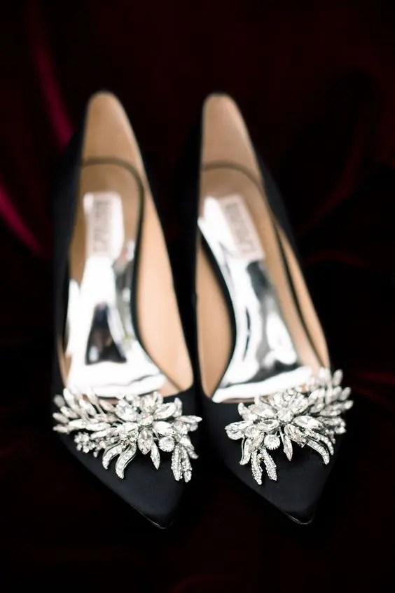 07a0ed52397 10+ Chic Black Wedding Shoes - crazyforus